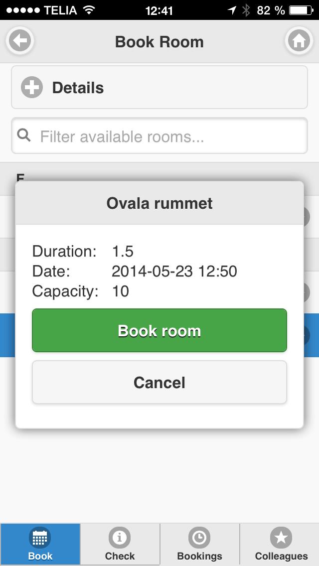 Infoware Rooms app